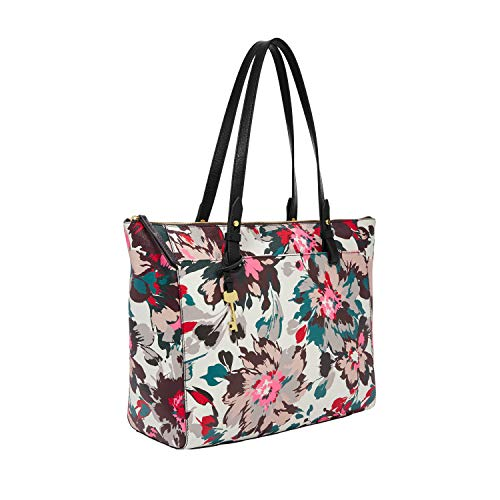 Fossil Women's Tote, Multi Floral, One Size US