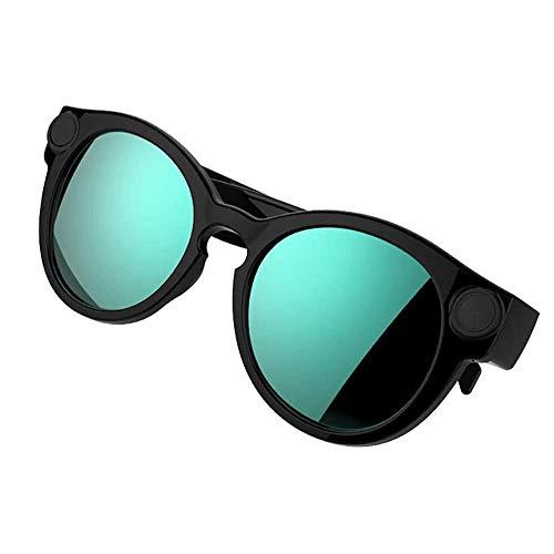 Adesign Gafas de Sol de la cámara, 155 Grados de ángulo Ancho de la Lente HD 1080P usable cámara de los vidrios del diseño del Deporte Grabador de vídeo