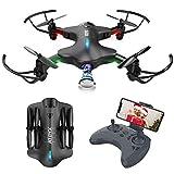 Drone con Fotocamera WiFi Trasmissione RC Quadricottero Posizionamento Preciso del Flusso Ottico...