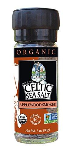 Gourmet Celtic Sea Salt Organic Applewood Smoked Seasoning Salt