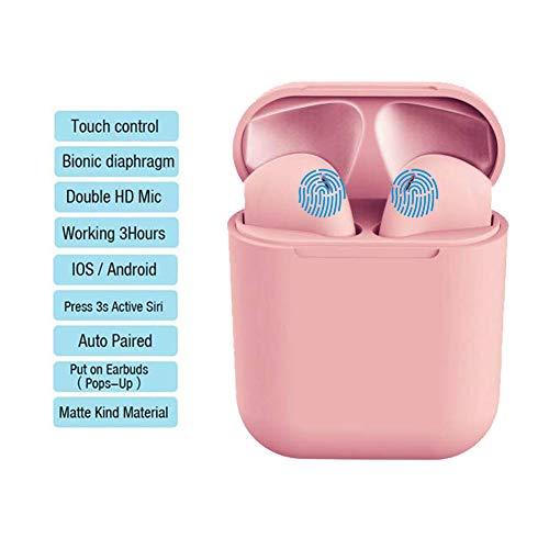Bluetooth 5.0 Sport audio Auricolare stereo wireless HIFI in-ear con microfono per tutti i telefoni cellulari