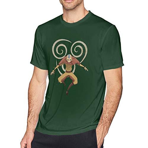 Heren T-Shirt Avatar De Laatste Legende Airbender van Korra Aang Korte Mouwloze Tops Zwart