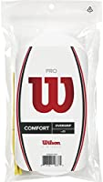 Wilson Pro Overgrip, White, Pack of 30