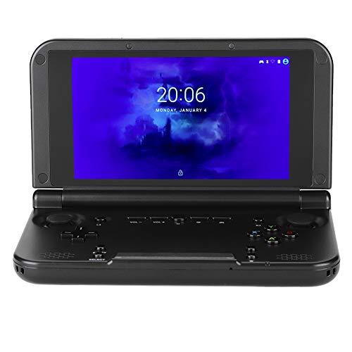 FECAMOS GPD XD Plus, Consolas de Juegos portátiles Plegables con Pantalla táctil de 5'para Regalos para niños, tabletas de computadora con 4GB RAM / 32GB ROM para PSP/NDS, Android 7.0(EU)