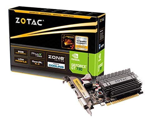 ZOTAC GeForce GT 730 2GB ZONE Edition ZT-71113-20L DVI + HDMI + VGA Scheda Video