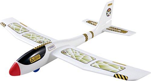 HABA 303521 Terra Kids Maxi-Wurfgleiter Großes Gleitflugzeug für Kinder, mehrfarbig