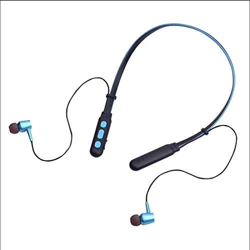 esuav B11 Wireless Bluetooth In Ear Neckband Headphone with Mic (Black)