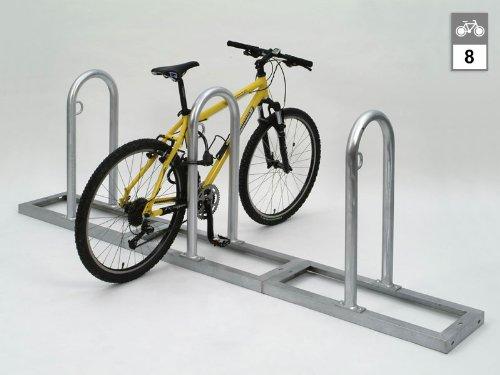 Fahrradständer (Anlehnparker) TRACK 34 (4 Bügel/8 Stellplätze)
