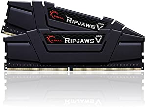 G.SKILL 16GB (2 x 8GB) Ripjaws V Series DDR4 PC4-25600 3200MHz Desktop Memory Model F4-3200C16D-16GVKB