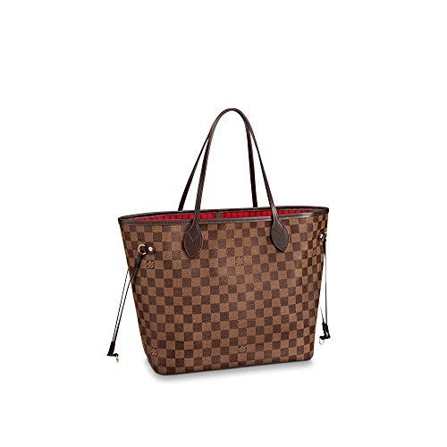 Louis Vuitton Neverfull MM Damier Ebene Bags Handbags Purse (Cherry)