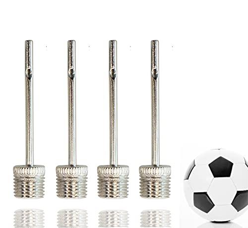 TK Gruppe Timo Klingler 6X Ballpumpe Schraubgewinde - alle Bälle - Ballnadeln Adapter Nadeln Ersatznadeln Ventilnadeln Nadelventil (6X Stück)