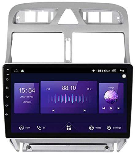 LL-SUNGIRL 9 Pulgadas Sistema Android Autoradio para Peugeot 307 2002-2013 con Navegación GPS Radio Estéreo Bluetooth Mirror Link Pantalla táctil