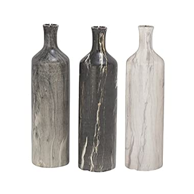 Deco 79 93692 Ceramic Vase, 3  x 13