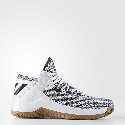Adidas Rise Up Chaussures de Basketball Homme, Noir (noir (Negbas Neguti Ftwbla) 000), 42 EU