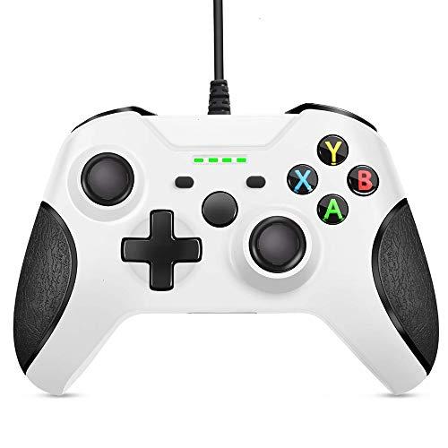 FTFVaska Mando Xbox One con Cable, Gamepad con Cable USB, con Función...