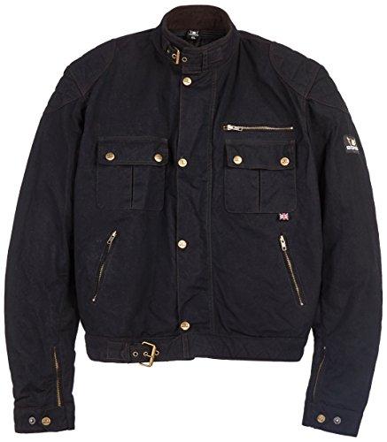 Bores Trophy Pro 1 Classic Cire Veste Veste en textile pour homme Noir Taille 6 X L