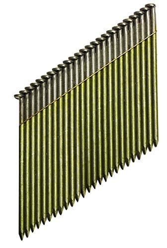 DeWalt 34 Grad Nagel (für Akku-Nagler, D-Kopf-Nägel, drahtgebunden 2,8 x 63 mm glatt, 2200 Stück) DNW2863E