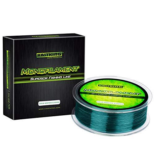 KastKing Premium Monofilament Fishing Line, Mountain Green,300Yds,4LB