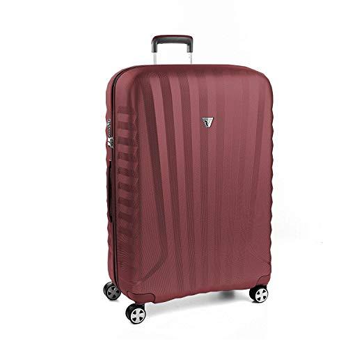 Roncato Grosser Spinner (L) Hartschalen UNO Zsl Premium 2.0 - cm 80.5 x 53 x 28 Fassungsvermögen 109 L Leicht Organisierter Innenraum TSA-Schloss 10 Jahre Garantie
