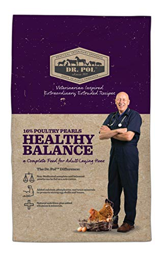 Dr. Pol 16% Poultry Pearls Healthy Balance Layer Feed (6 lb)
