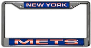 Rico Industries MLB Laser-Cut Chrome License Plate Frame