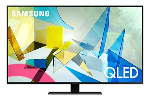SAMSUNG 50-inch Class QLED Q80T Series - 4K UHD Direct Full Array 8X Quantum HDR 8X Smart TV with Alexa Built-in (QN50Q80TAFXZA, 2020 Model)