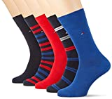 Tommy Hilfiger Herren TH Men Duo Stripes Box 5P Socken