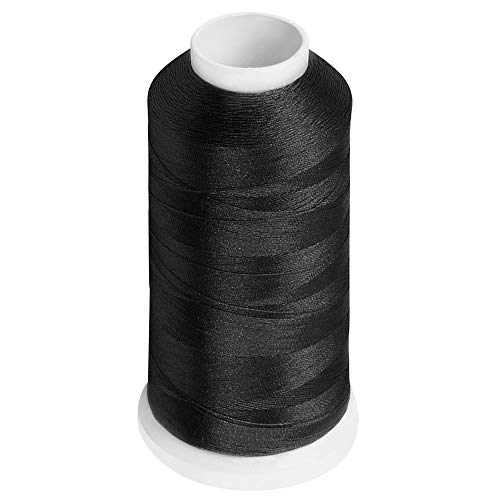 Desirable Life Bonded Nylon N66 Sewing Thread 1100 Yards Size #92 T90 280D/3 for Leather Denim Hand Machine Craft Shoe Bag Repairing Extra Strong Heavy Duty UV Rays Resistant Waterproof