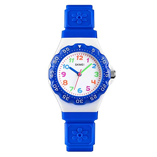 Skmei Kids Boys Girls Children First Watch Easy to Tell Time Analogue...