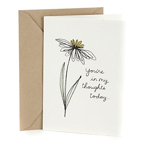 Hallmark Sympathy Card (In My Thoughts) (0399RZB1287)