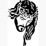 Jesucristo retrato con corona imagen Biblia carteles religiosos cristianos pegatinas de pared decoración para el hogar 40 * 60 cm