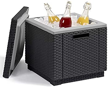 KeterIce Cube Beer and Wine Cooler Table