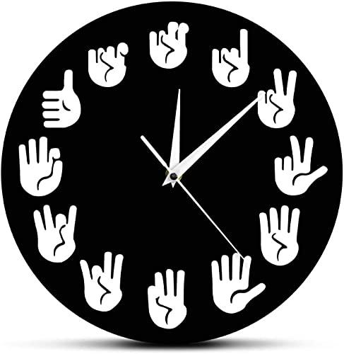 NL Reloj de Pared Reloj de Pared para la Sala de Estar decoración Reloj de Pared Reloj Moderno para la Oficina de Estudio