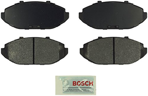 Bosch BE748 Blue Disc Brake Pad Set for 1998-02 Ford Crown Victoria, 1998-02 Lincoln Town Car, and 1998-02 Mercury Grand Marquis - FRONT