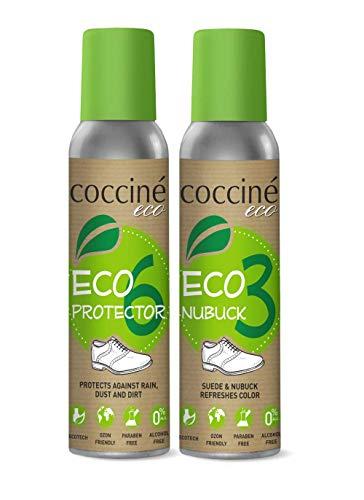 Cocciné - Wildleder Pflege   Nubuk Lederpflege   Schuhe Färben Imprägnierspray Reiniger   Velourslederpflege - Eco (Neutral)