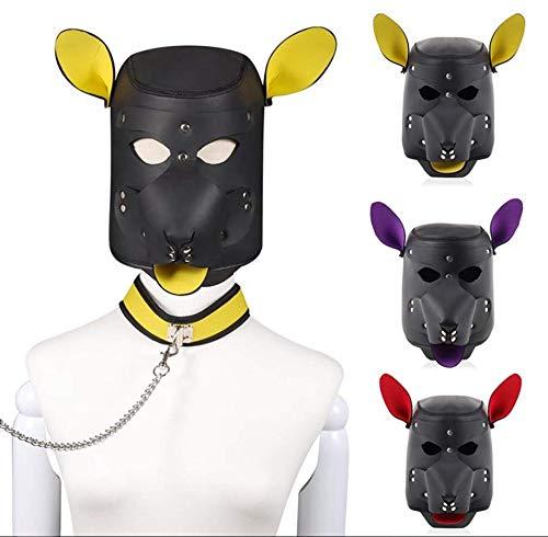 Roo-16HAO Capucha a Prueba de Viento máscara de Juego de Accesorios de Rendimiento Decoración de Halloween 761
