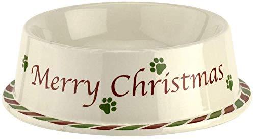 Spode Christmas Tree- 7' Pet Bowl- Stoneware