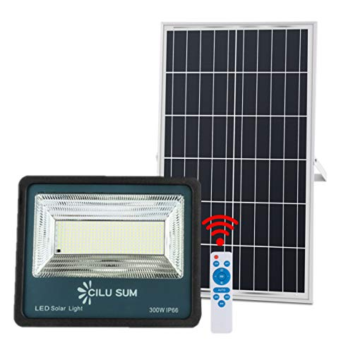 CILU SUM 300W LED Solar Flood...