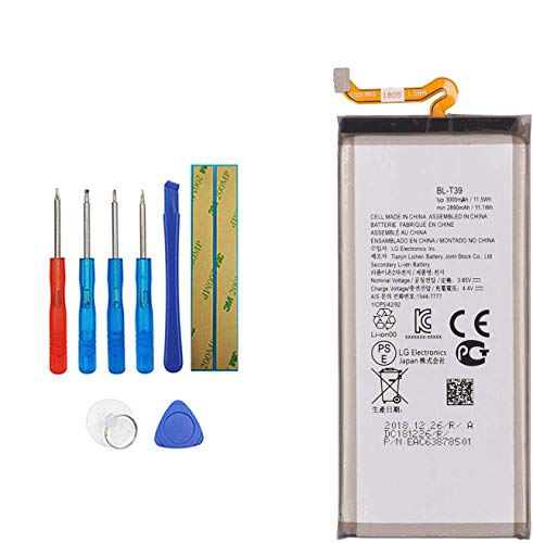 E-YIIVIIL BL-T39 Replacement Battery Compatible with LG G7 ThinQ G710 Q7 G7 Plus ThinQ G710EM G710N with Toolkit