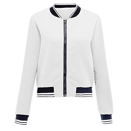 DISCOUNTL Sweater Baseball Wear Damen Casual Kurzmantel Jacke Damen College Jacke Damen leichte Jacke Damen North face Jacke Damen Kurze jacken Damen