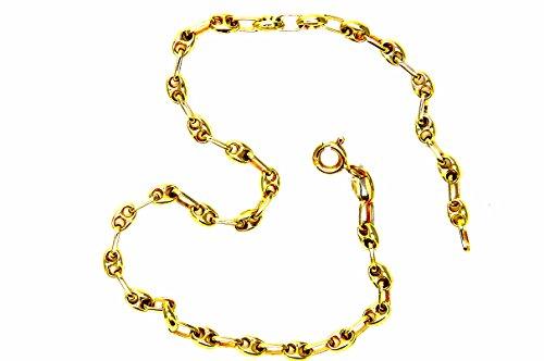 Pegaso Joyería–Pulsera oro blanco 18kt Marinara Hombre cm 20,5