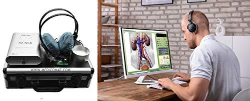 NLS Frequenzanalyse und Stress Rebalancing Geräte Medicomat-36 Biofeedback Diagnostik und Therapie Computer-Health Bioresonanz Gesundheitskosten zu senken