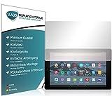 Slabo 2 x Protector de Pantalla para Amazon Fire HD 10-Tablet con Alexa (25,65cm 10,1') 2017 & 2019 lámina de Protectora Ultra Transparente