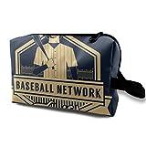 DJNGN Bolsa de maquillaje Bolsa de cosméticos The Warriors Baseball Furies Bolsa multifuncional Kit de viaje Bolsa de almacenamiento