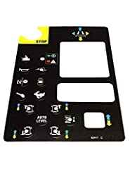 Platform Control Panel Decal 82417 82417GT 82417 C Fits Genie GS-2668 RT GS-3268 RT GS-3384 GS-3390 GS-4390 GS-5390 Delivery Time: USA 3-7 workdays, other countries 4-10 workdays.