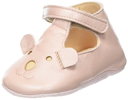 Easy Peasy Baby-Jungen Loulou TED Hausschuhe, Rosa Baba, 17 EU