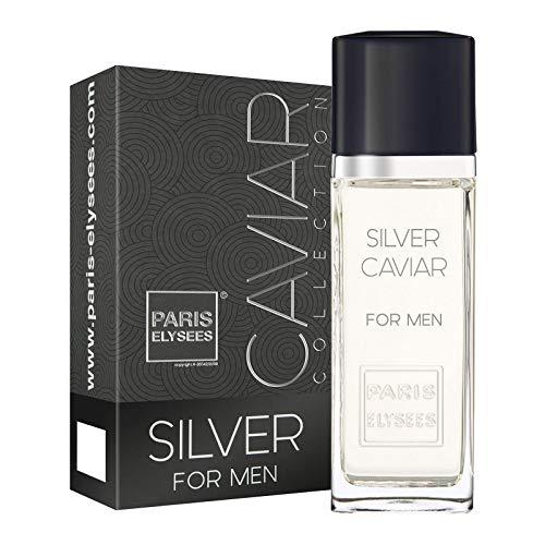 Silver Caviar Eau de toilette 100ml Homme Parfum Paris Elysees