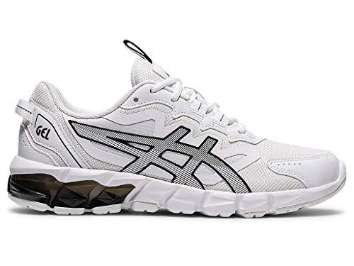 ASICS Women's Gel-Quantum 90 3 Shoes, 8M, White/Black