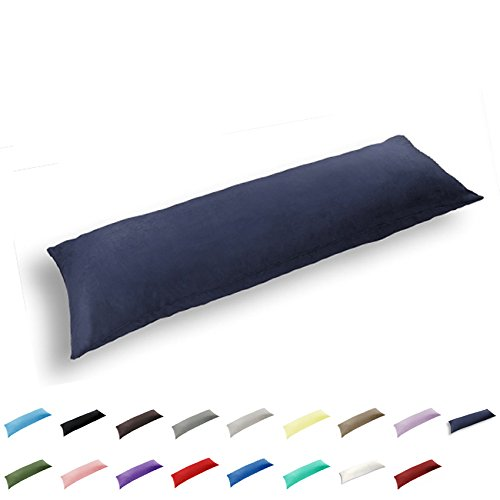 TAOSON 100% Cotton 300 Thread Count Body Pillow Cover...
