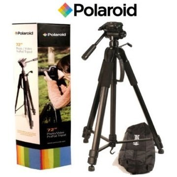 Professional 57-inch Tripod 3-way Panhead Tilt Motion with Built In Bubble Leveling for Sony Cyber-shot RX10, RX10 II, HX400V, HX200V, HX100V, DSC-HX50V, DSC-HX60V, RX100, RX100M II, RX100M III, RX100M IV